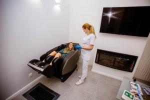 Бесплатный массаж для клиента